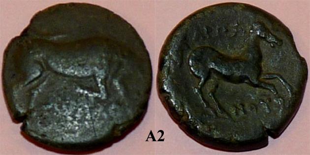 Identification lot monétaire - TD étudiant en archéologie A210