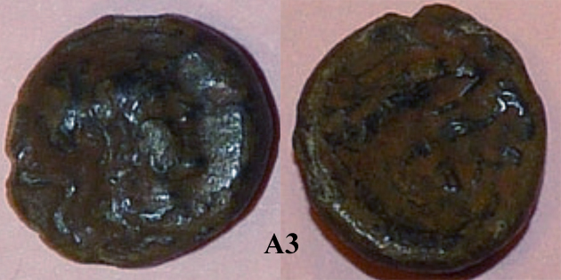 Identification lot monétaire - TD étudiant en archéologie A310