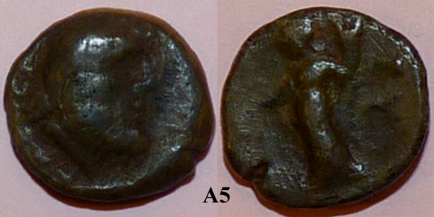 Identification lot monétaire - TD étudiant en archéologie A510