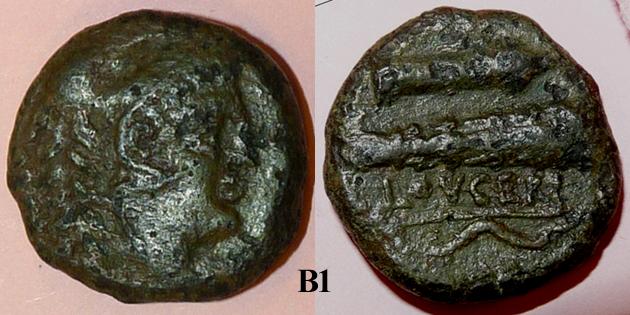 Identification lot monétaire - TD étudiant en archéologie B110