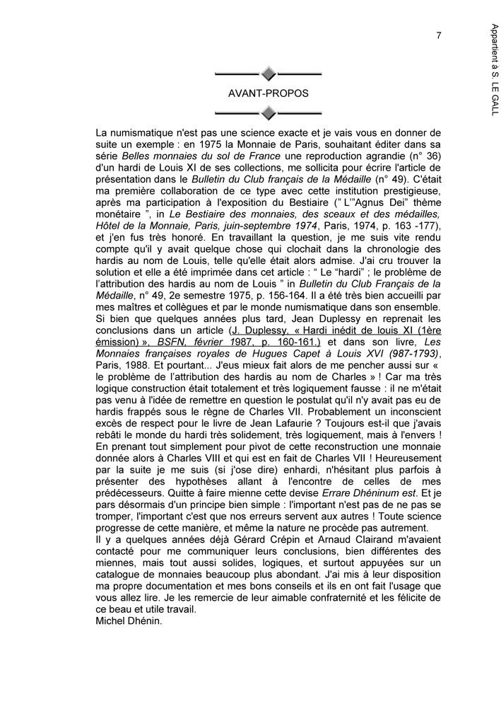 """Parution de l'ouvrage """"Les hardis de la maison de France, 1453 -1540"""" Hardis12"""