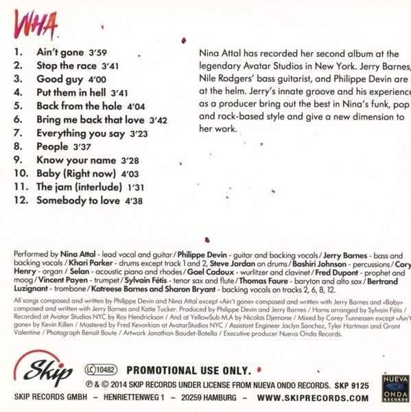 CROSSROADS la radio Blues - Page 9 Nina-a10