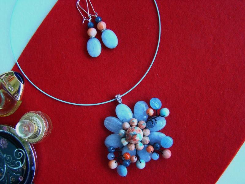 """""""Flori de piatră-Bijoux"""" albumul I-bijuterii artizanale marca Didina Sava - Pagina 10 Colie146"""