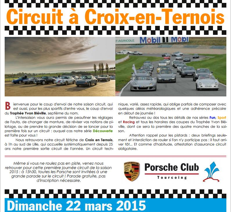 Photos rassemblement Porsche Club Tourcoing 2015 A13