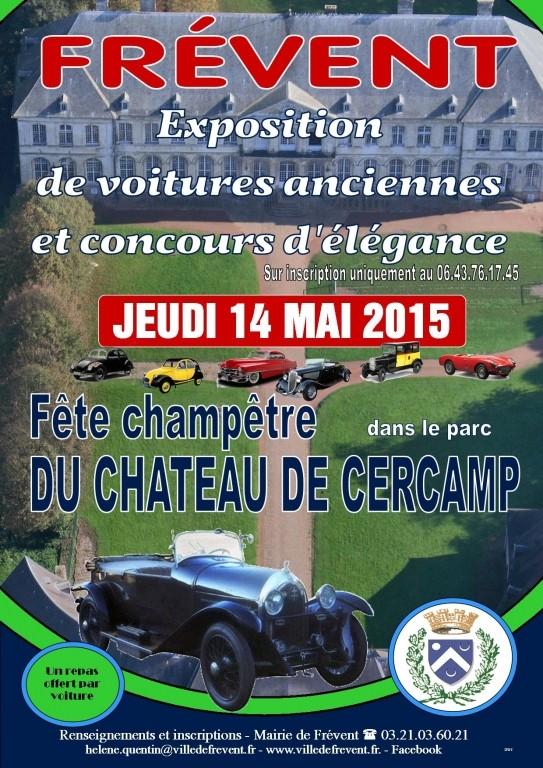 Photos exposition voitures anciennes 2015 à Frévent Fete-c10
