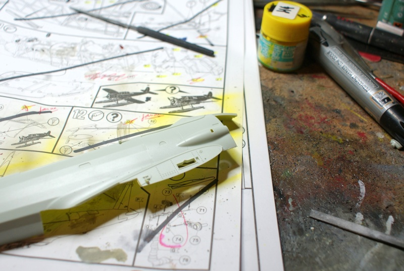 "TERMINE / Arado 196 A-3 version ""Tintin"" - 1/32 - Kit Revell 04688 Dsc04937"