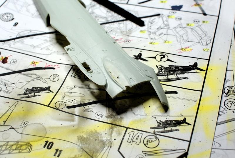 "TERMINE / Arado 196 A-3 version ""Tintin"" - 1/32 - Kit Revell 04688 Dsc04938"