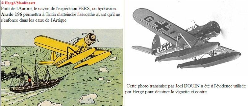 "TERMINE / Arado 196 A-3 version ""Tintin"" - 1/32 - Kit Revell 04688 Tintin10"