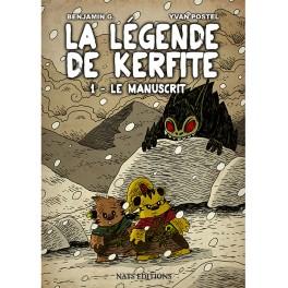[Nats Editions] La Légende de Kerfite Tomes 1 et 2 (BD) de Benjamin G. et Yvan Postel 217-la10
