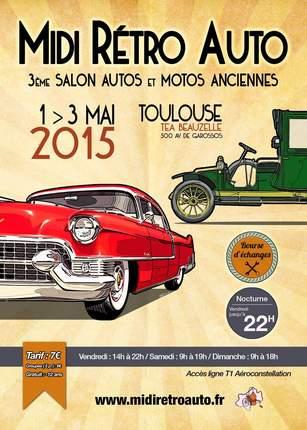 MIDI RÉTRO AUTO 2015 : 1, 2 et 3 mai 2015 à Beauzelle Flyer_10