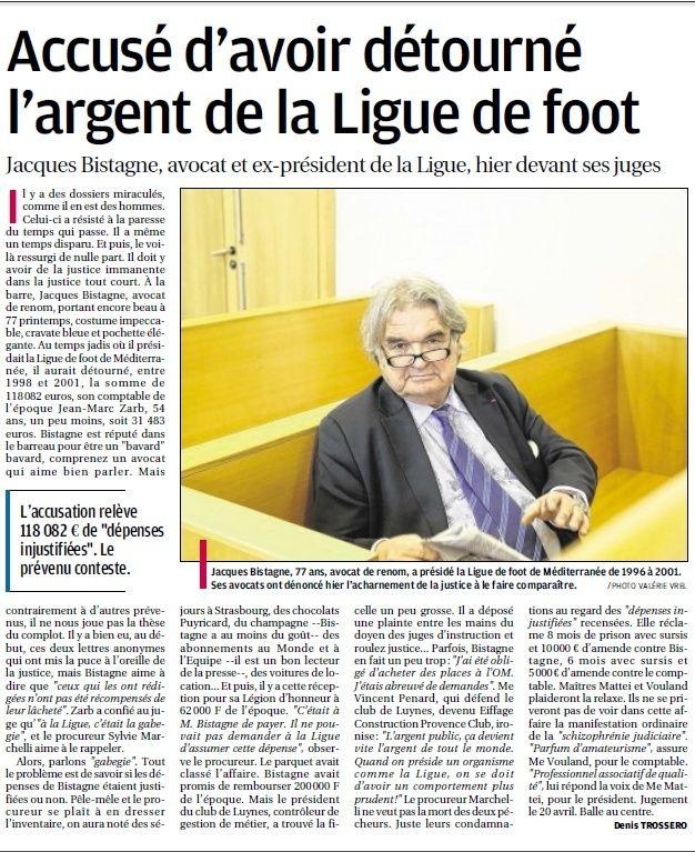 CORRUPTIONS TRUCAGES ET VIOLENCES   DANS LE FOOTBALL ET LE SPORT EN GENERAL  - Page 28 411
