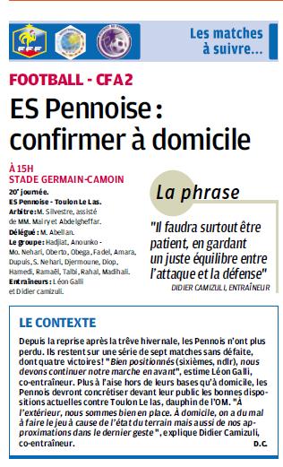 TOULON LE LAS // CFA2 GROUPE E  - Page 20 512