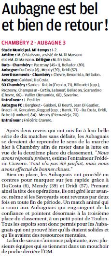 FC AUBAGNE // CFA2 GROUPE SUD EST  G - Page 21 513