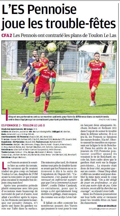 TOULON LE LAS // CFA2 GROUPE E  - Page 20 5a10