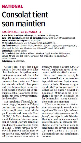 Stade athlétique spinalien// SAS EPINAL  - Page 7 717