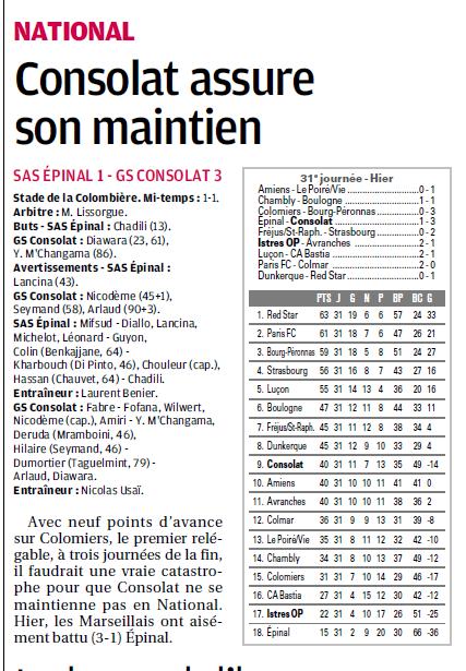 Stade athlétique spinalien// SAS EPINAL  - Page 7 7a11