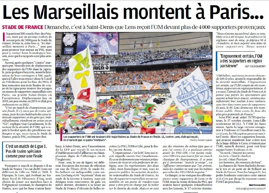 SUPPORTERS ...ALLEZ L'OM - Page 8 8a13