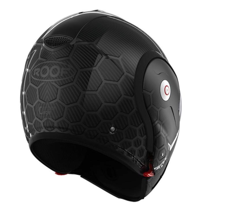 Casque ROOF Boxxer Carbon Cage ou Scorpion Exo Tech Carbon Mat (c'est choisi) 2021-040
