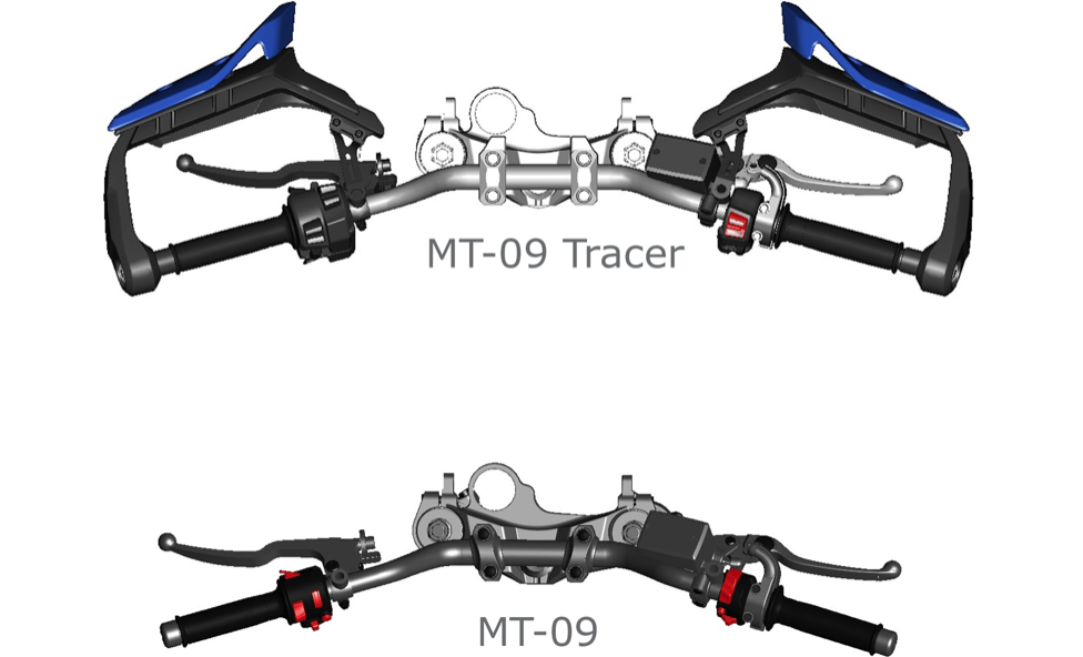 guidon de la Tracer 2018 compatible avec modèle 2015 ? Captur28