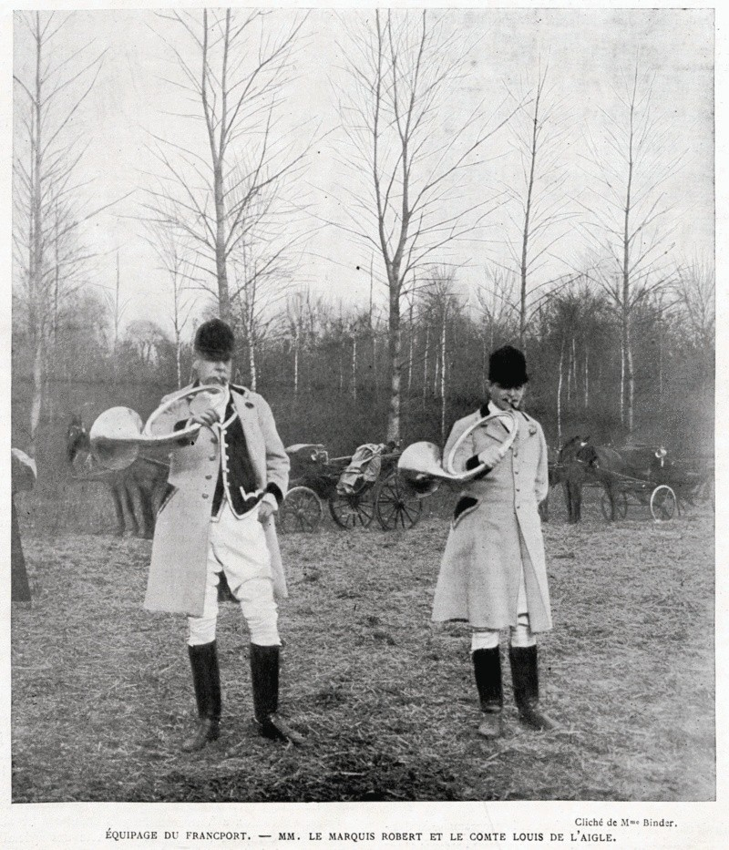 Comte de l'Aigle, membre du premier comité du Retriever Club... Comted12