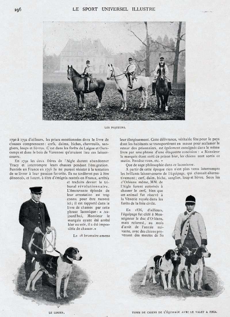 Comte de l'Aigle, membre du premier comité du Retriever Club... Francp15