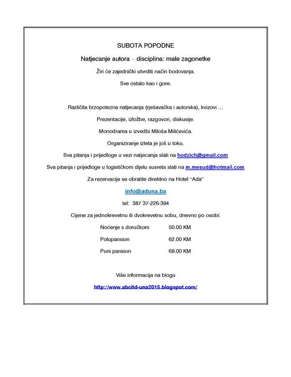 SUSRET ENIGMATA - UNA 2015. Una20111