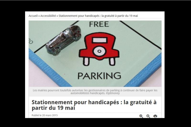 La loi autorisant le stationnement gratuit des personnes handicapées  Sans_t65