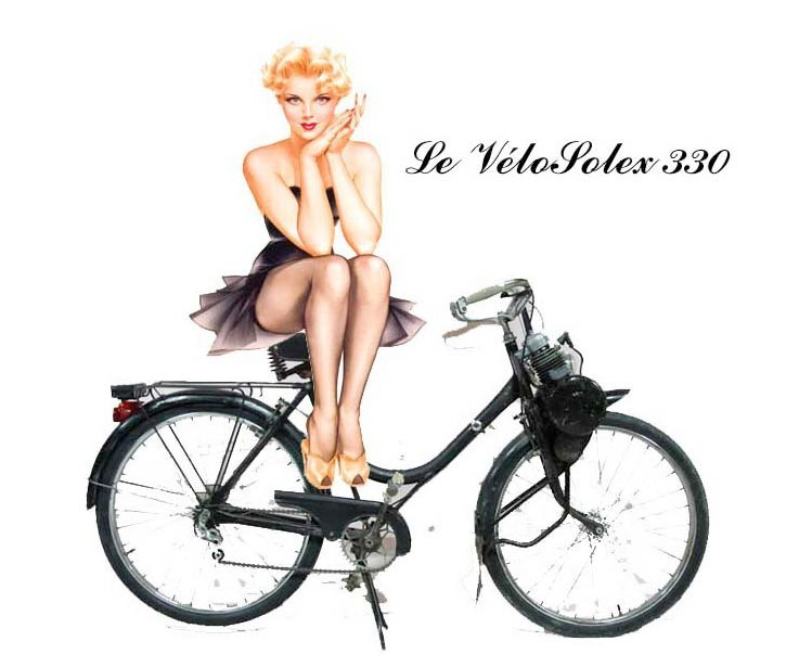 Pin-Up 50cc Solex110
