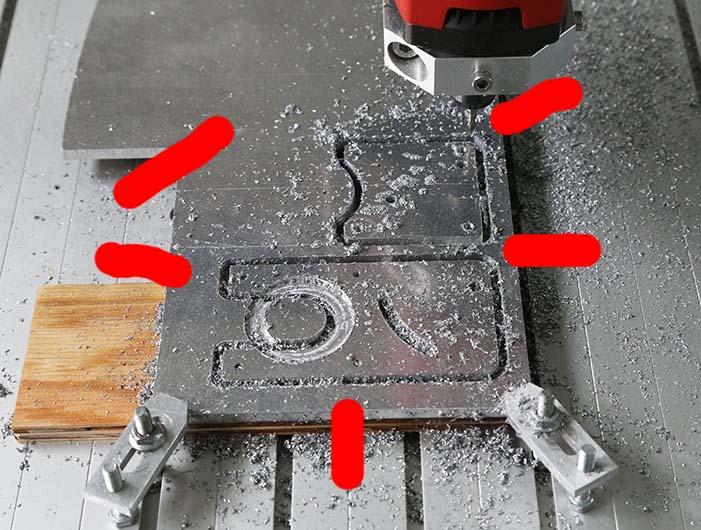 Motorisation table raboteuse (voir p.13) et amélioration R/D Holztech FS320 (première partie)  - Page 20 Bridag10