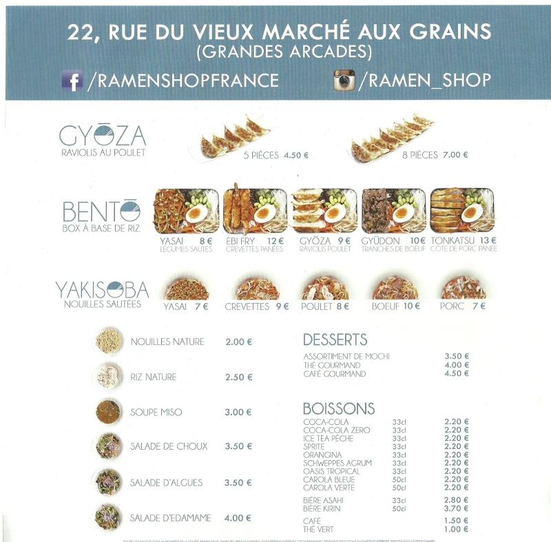 Mon adresse préférée : Ramen Shop à Strasbourg Ramen-11