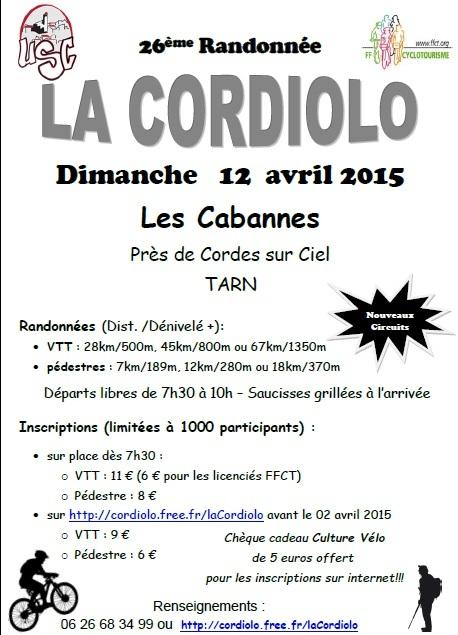 Randonnée : la cordiolo :  12 avril 2015 Cordio10
