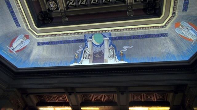 Freemasons' Hall, The United Grand Lodge of England Ceilin11