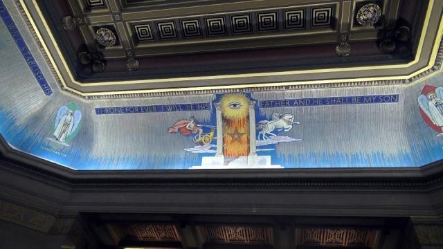 Freemasons' Hall, The United Grand Lodge of England Ceilin12
