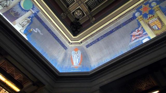 Freemasons' Hall, The United Grand Lodge of England Ceilin13
