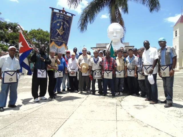 Homenaje de la masonería en Yaguajay al 120 aniversario de la caída en combate del V.H: José Julián Martí Pérez Yaguaj10