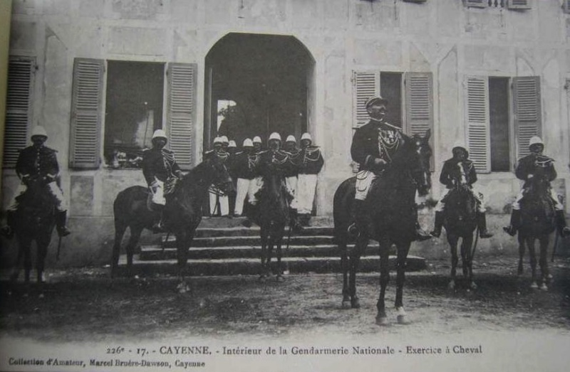 LA GENDARMERIE D'OUTRE-MER Cayenn12