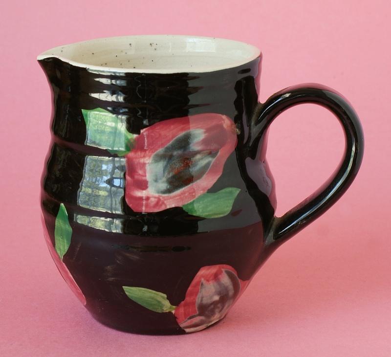 Lovely Pottery Jug & Bowl.  Dsc01311
