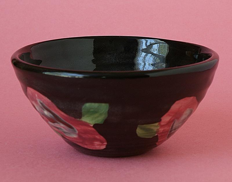 Lovely Pottery Jug & Bowl.  Dsc01312