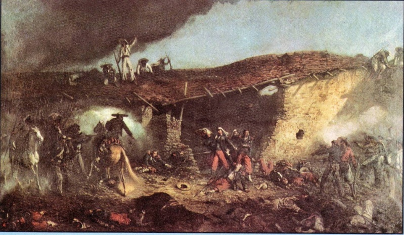 30 avril 1863 – Bataille de Camerone Camero10