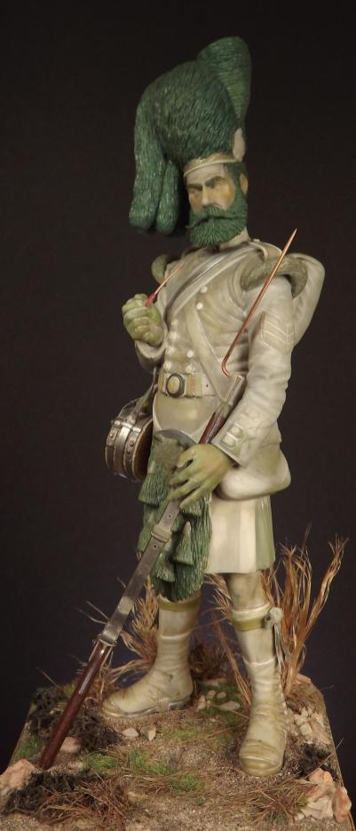 Colour Sergeant of the 93rd. Balaclava 1854. 001ab10