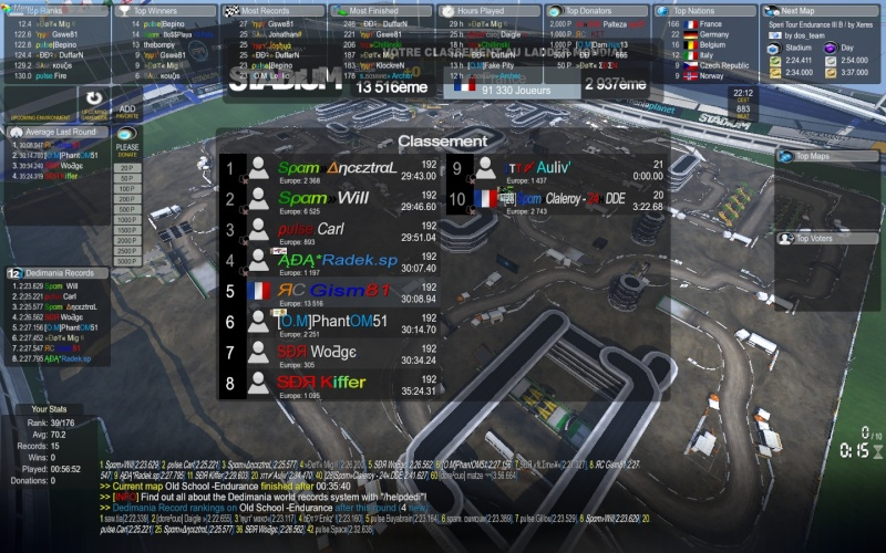 RACE 8 - NEED SCREEN SERVER 4  Screen10