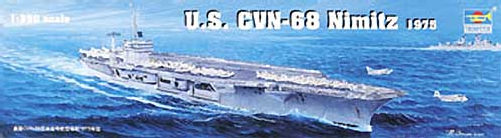 My new project..USS Nimitz CVN 68 1976  Ltsms510