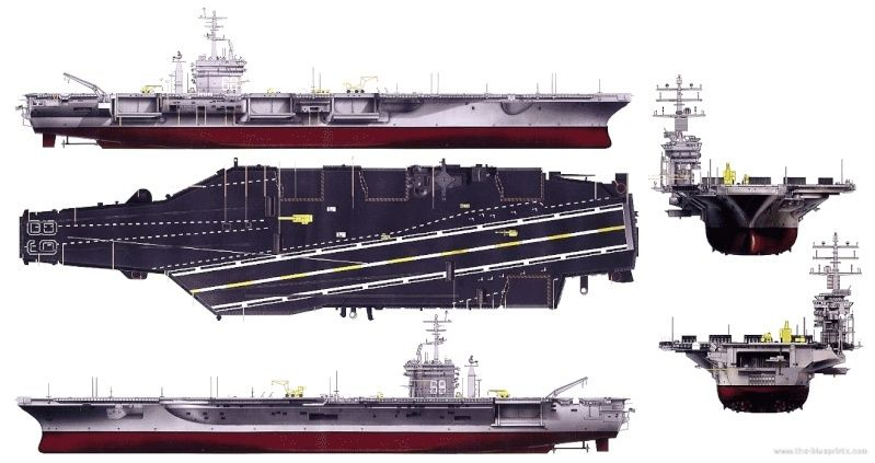 My new project..USS Nimitz CVN 68 1976  Uss-cv10
