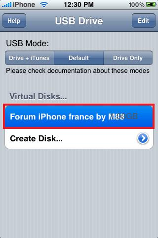 [TUTO] Utiliser son iPhone comme clé USB Img_0117