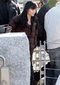 Angelina fazendo mais cenas de SALT,em frente o rio Hudson,em NY 29.12.09 0510