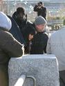 Angelina fazendo mais cenas de SALT,em frente o rio Hudson,em NY 29.12.09 0710