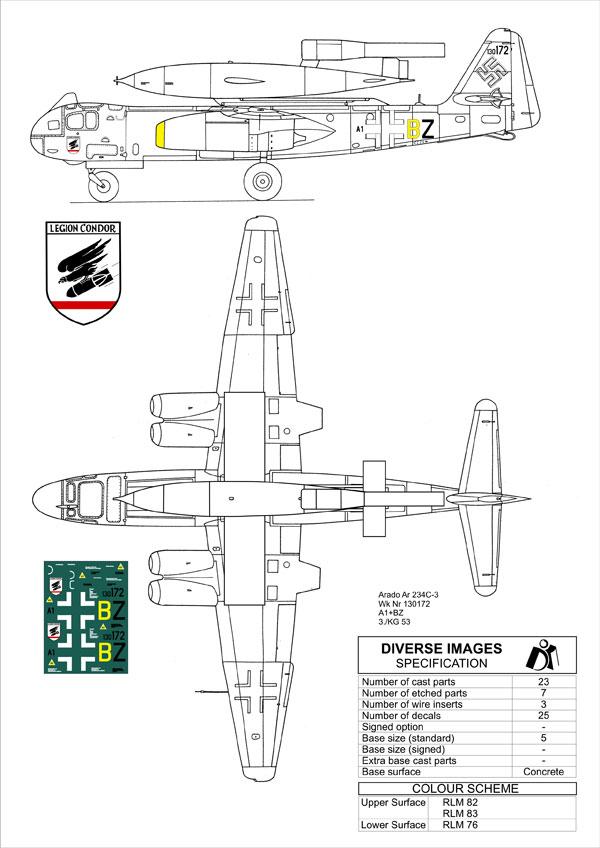Fieseler Fi 103 V-1 Flying Bomb Arado-10
