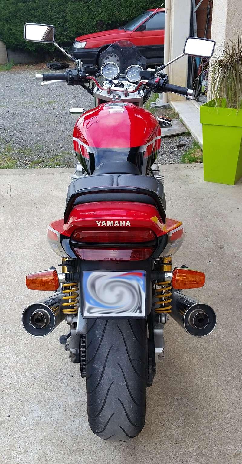 Mon XJR 1300 SP Rouge ! (le rouge ça va plus vite^^) Arrier10