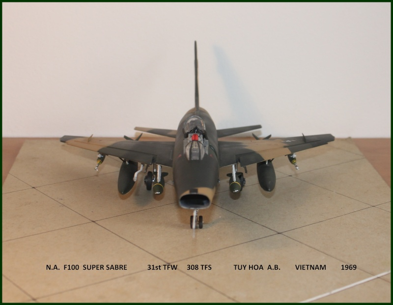 F 100 SUPER SABRE 1/48 Monogram - Page 3 F100fi13