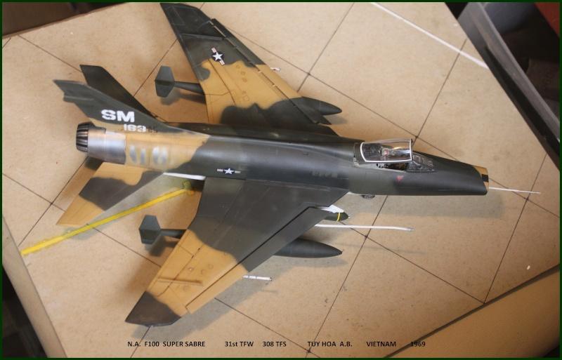 F 100 SUPER SABRE 1/48 Monogram - Page 3 F100fi14